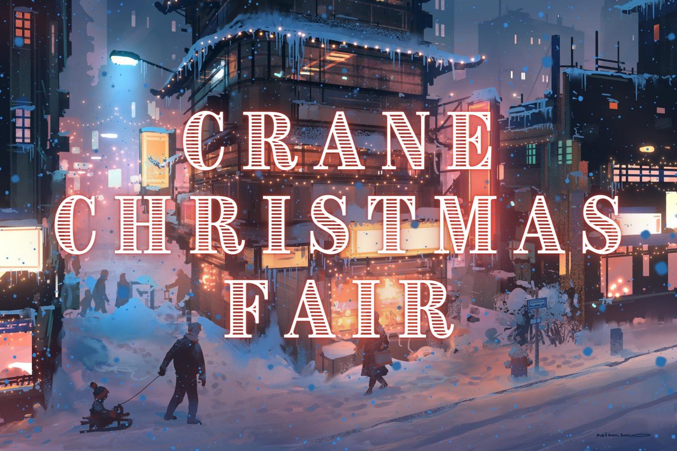 Crane Christmas Fair: Shopping & Food