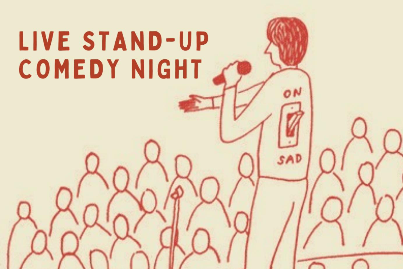 Stand Up Comics at Crane